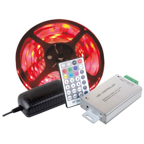 Coloured-LED-Strip-with-controller