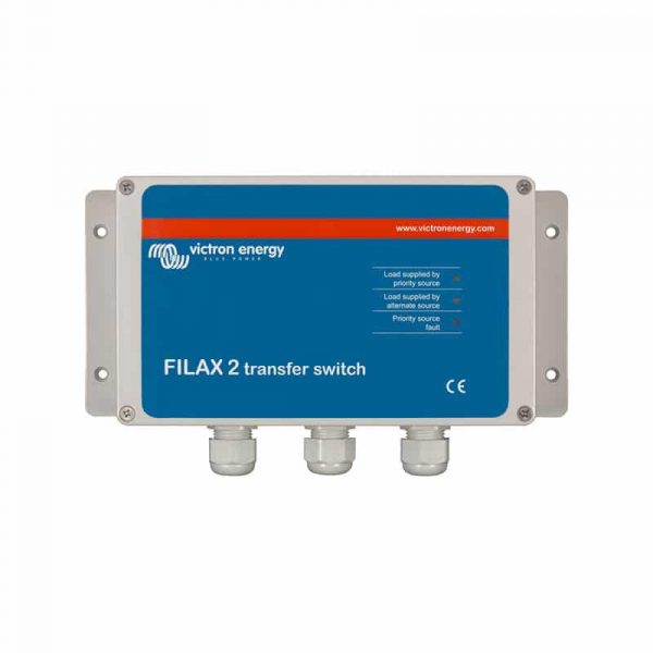Victron Energy - Filax 2 Transfer Switch CE 110V/50Hz-120V/60Hz
