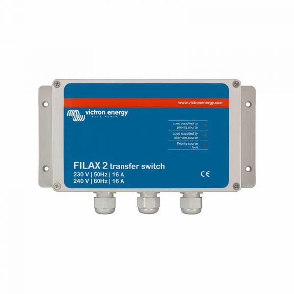 Victron Energy - Filax 2 Transfer Switch CE 230V/50Hz-240V/60Hz