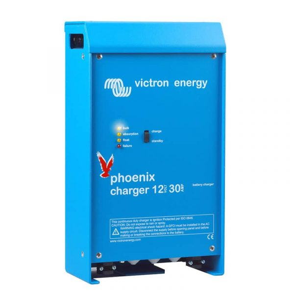 Victron Energy - Phoenix Charger 12/30 (2+1) 120-240V