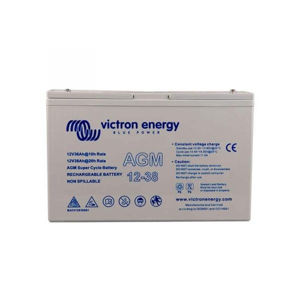 12V/38Ah AGM Deep Cycle Batt.