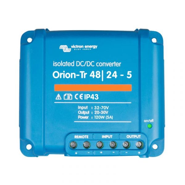 Victron Energy - Orion-Tr 48/24-5A (120W) Isolated DC-DC converter