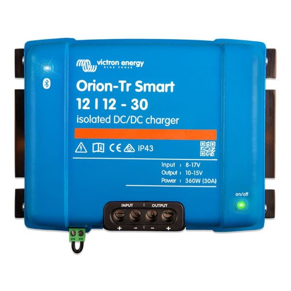 Victron Energy - Orion-Tr Smart 12/12-30A (360W) Isolated DC-DC charger