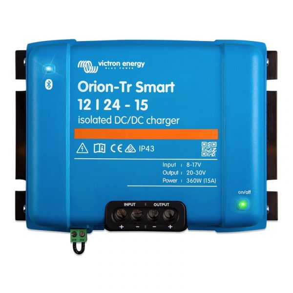Victron Energy - Orion-Tr Smart 12/24-15A (360W) Isolated DC-DC charger