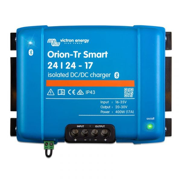 Victron Energy - Orion-Tr Smart 24/24-17A (400W) Isolated DC-DC charger