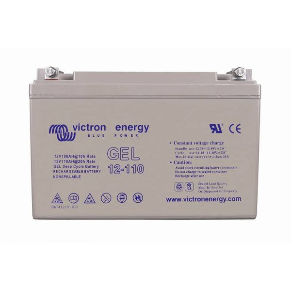12V/110Ah Gel Deep Cycle Batt.