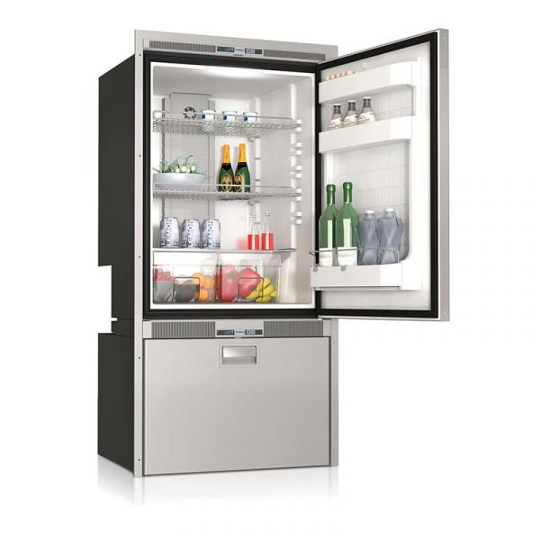 Vitrifrigo DW250 RFX - 232 Litre Stainless Steel Upper Fridge & Lower Freezer Compartment