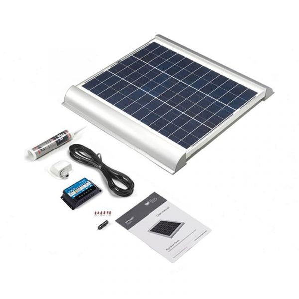 Solar Technology – 45 Watt Rigid Solar Roof & Deck Top Kit - STPMH45AE