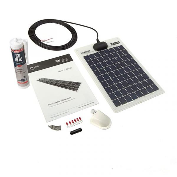Solar Technology – 10W Flexi Solar Roof & Deck Top Kit – STPVFRT010