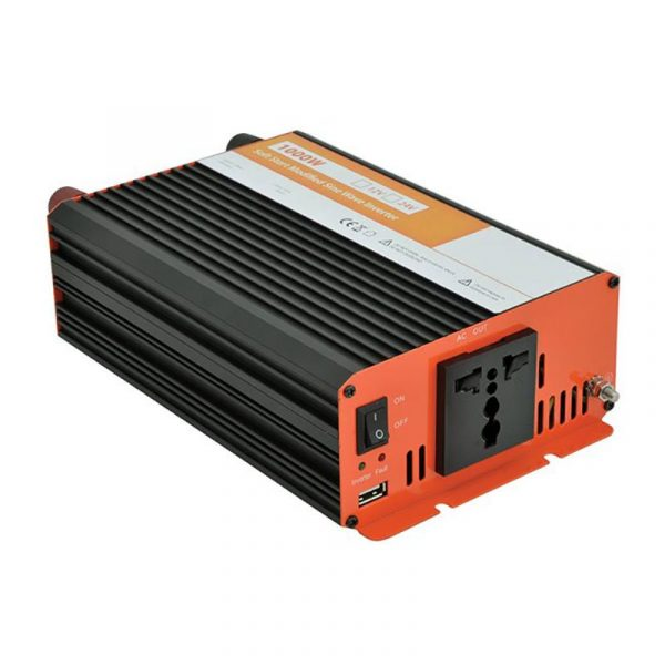 Solar Technology - 1000 Watt 12v DC to 240v AC Solar Inverter - INV1000
