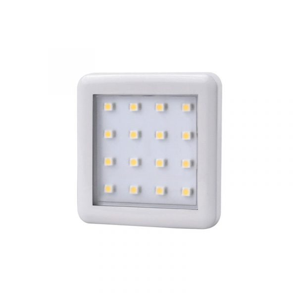 Design Light - SQUARE 2 under cabinet LED luminaire 1.5W - White