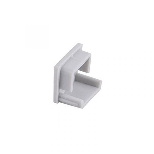 Design Light - End cap for LINE profile - Grey