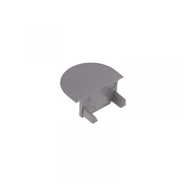 Design Light - End cap for ZENOLINE profile - Grey