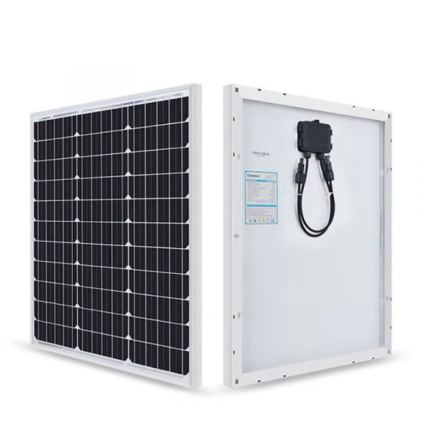 Renogy - 50W 12V Monocystalline Solar Panel (New Edition)
